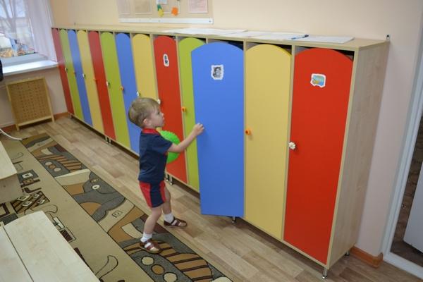 Детские шкафчики для детского сада