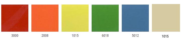 дополнительные цвета регулируемых опор для детских столов
