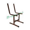 Каркас стула регулируемого 'Умник' гр.2-4 м/к серый RAL 7001