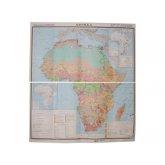 Учебная карта Африка(социально-экономическая)