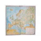 Учебная карта Европа (физическая) для средней школы