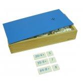 Ящик с примерами на деление