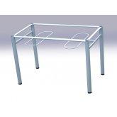 Каркас стола обеденной группы размер 1100*700*740 м/к серый