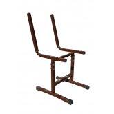 Каркас стула регулируемого 'Умник' гр.4-6 м/к шоколадно-коричневый
