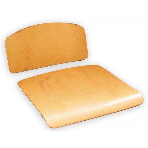 Гнуто-клееные элементы (2 шт. в комплекте) гр. 4 спинка и сиденье