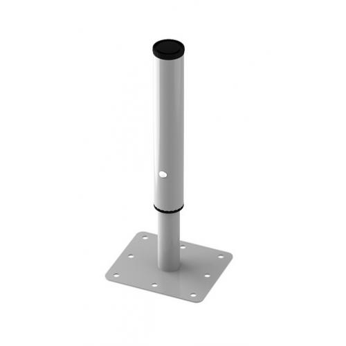 Опора МКРС перевернутая 40/32 с регулируемым подпятником гр.0-3 под хром