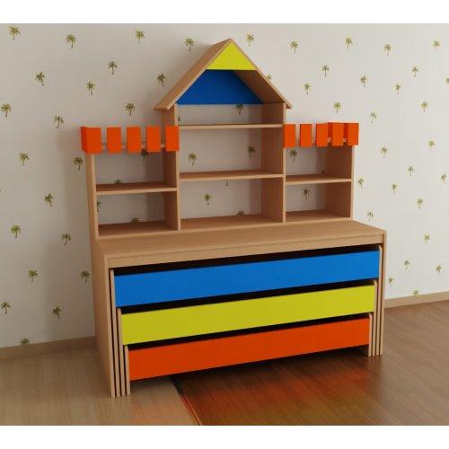 Надстройка «Башенки с домиком» (вариант 1) (цветная)