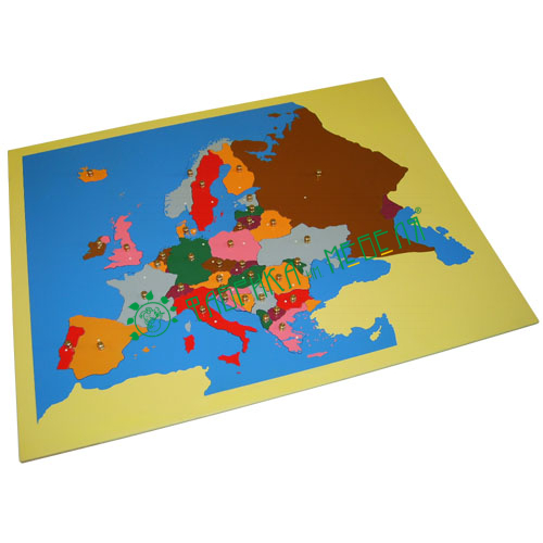 Карта Европы (пазлы)