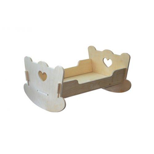 Кукольная кровать из фанеры фанера №8