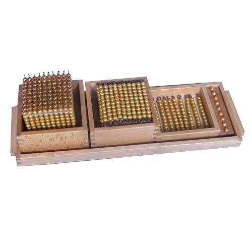 Материал для «золотых» бусин для «Знакомства с десятичной системой» 001