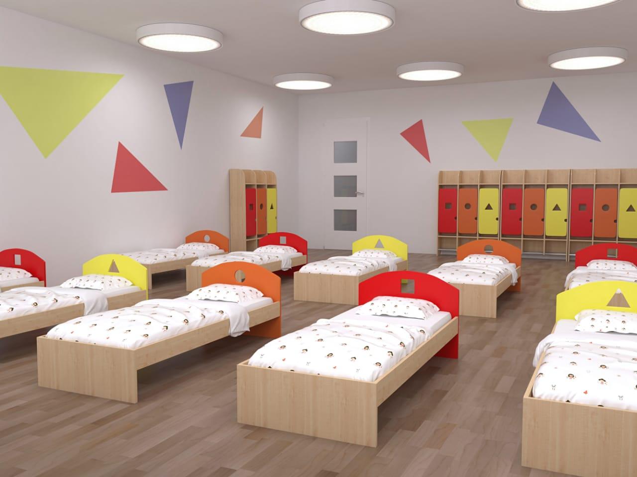 стильная серия детской мебели из ЛДСП